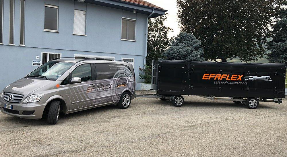 Espositore mobile Efaflex