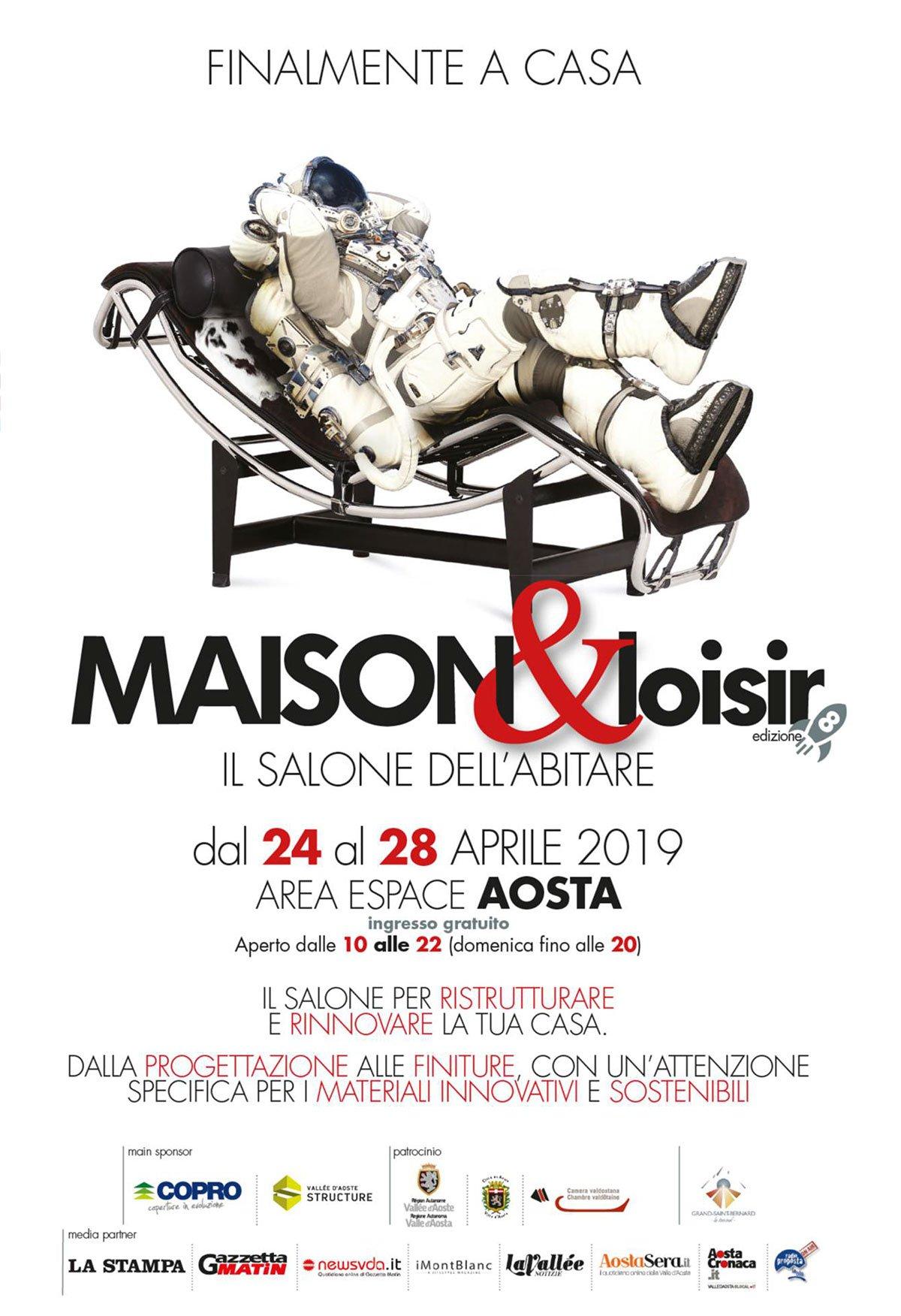 Maison & Loisir, Il Salone dell'abitare di Aosta, dal 24 al 28 aprile