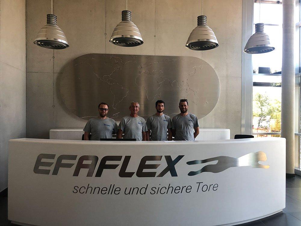 Corso di aggiornamento sulle nuove porte Efaflex